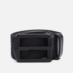 Ремень Stone Island Nylon/Leather Tape 7515 Black