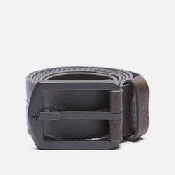 Ремень Stone Island Nylon/Leather Tape 7515 Mid Blue