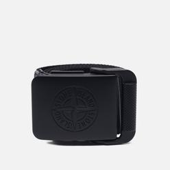 Ремень Stone Island Nylon Tape Clip Buckle 7515 Black