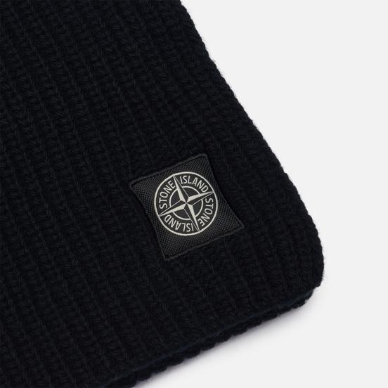 Шарф Stone Island Geelong Wool Black