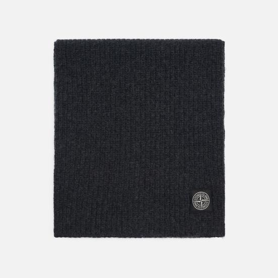 Шарф Stone Island Geelong Wool Antracite