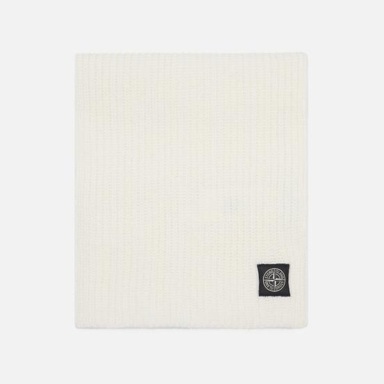 Шарф Stone Island Geelong Wool Natural White