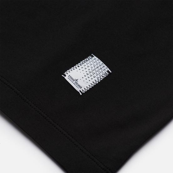 Мужская футболка Stone Island Shadow Project Mini Logo CXADO 7519 Black