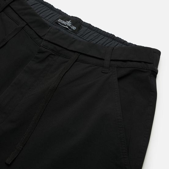 Мужские брюки Stone Island Shadow Project Bi-Stretch R-Nylon Twill Garment Dyed Black