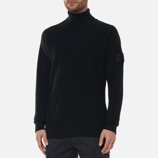 Мужской свитер Stone Island Shadow Project Classic Collar High Neck Regular Fit Antracite
