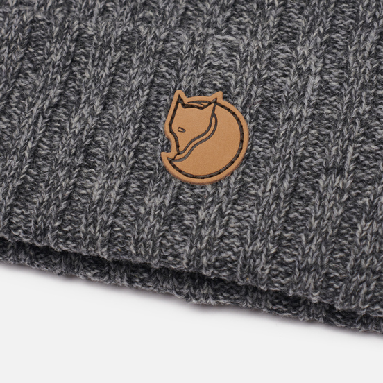 Шапка Fjallraven Byron Wool Dark Grey/Grey