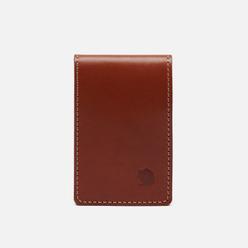 Держатель для карточек Fjallraven Ovik Large Leather Cognac