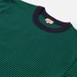 Мужская футболка Armor-Lux Heritage Striped Loose Fit Navire Navy/Billard Green фото - 1