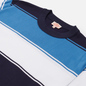 Мужская футболка Armor-Lux Heritage Large Striped Regular Fit Navire Navy/White/Ozero Blue фото - 1