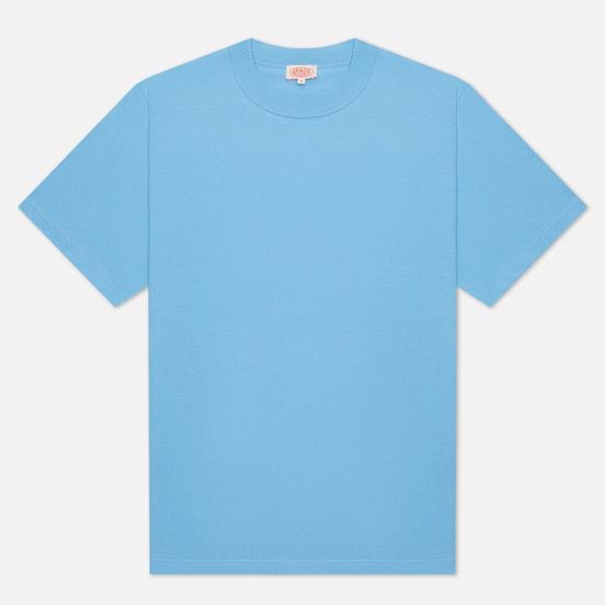 Мужская футболка Armor-Lux Heritage Plain Color Light Blue