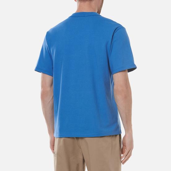 Мужская футболка Armor-Lux Heritage Plain Color Ozero Blue