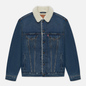 Мужская джинсовая куртка Levi's Vtg Fit Sherpa Dark Blue фото - 0