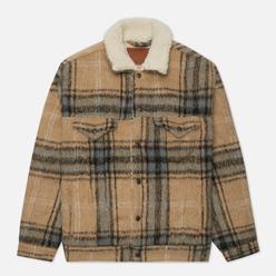 Мужская куртка Levi's VTG Fit Sherpa Camel Blue Plaid