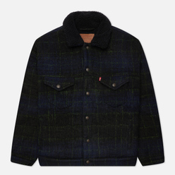 Мужская куртка Levi's VTG Fit Sherpa Nightwatch Plaid