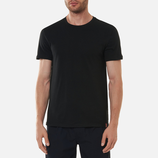 Комплект мужских футболок Levi's 2 Pack Slim Crewneck Black/Black