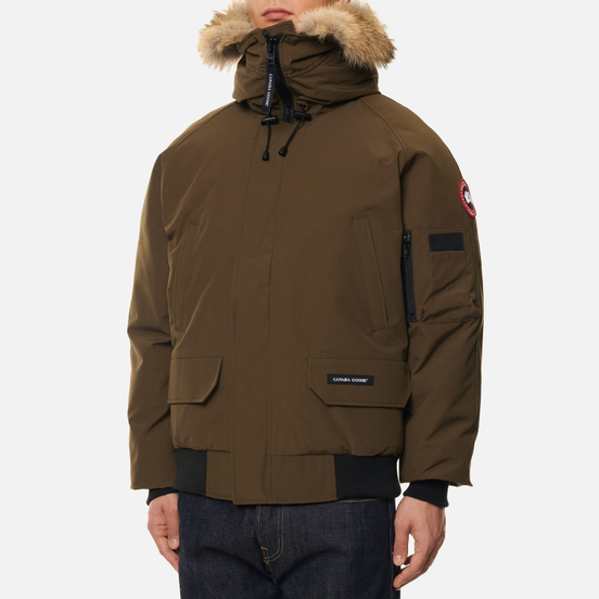 Мужская куртка бомбер Canada Goose Chilliwack Military Green