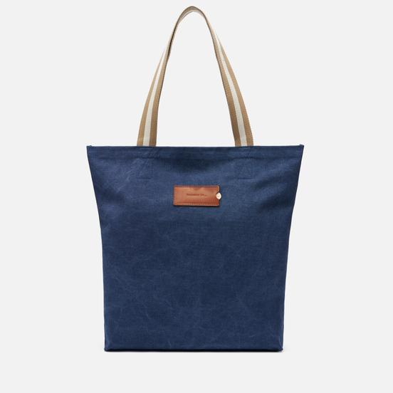 Сумка Property Of... Aimee Shopping Denim Blue/Light Brown