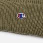 Шапка Champion Reverse Weave C Logo Patch Tall Beanie Stone Green фото - 1