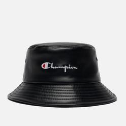 Панама Champion Reverse Weave Embroidered Script Logo Vegan Leather Bucket Black
