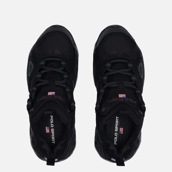 Мужские кроссовки Polo Ralph Lauren RLX Polo Sport Fast Trail Cordura/Nubuck Black/Black
