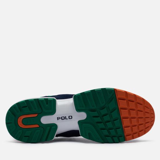 Мужские кроссовки Polo Ralph Lauren Jogger Polo Pony Suede/Mesh/Nubuck Newport Navy/English Green/White