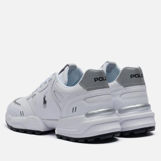 Мужские кроссовки Polo Ralph Lauren Jogger Polo Pony Leather White/Black Polo Pony