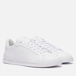 Мужские кроссовки Polo Ralph Lauren Heritage Court II Premium Leather White