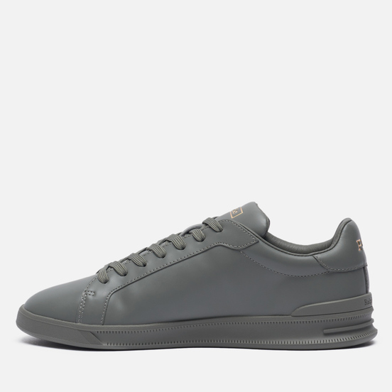 Мужские кроссовки Polo Ralph Lauren Heritage Court II Premium Leather College Grey