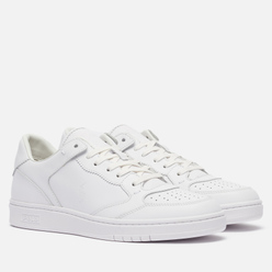 Мужские кроссовки Polo Ralph Lauren Polo Court 2.0 Lux Leather White