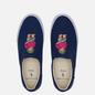 Мужские кеды Polo Ralph Lauren Thompson Slip-On Recycled Canvas Newport Navy/Bear Print фото - 1