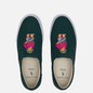 Мужские кеды Polo Ralph Lauren Thompson Slip-On Recycled Canvas Washed Forest/Bear Print фото - 1