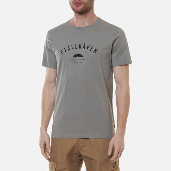 Мужская футболка Fjallraven Trekking Equipment Shark Grey