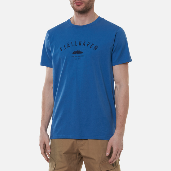 Мужская футболка Fjallraven Trekking Equipment Blue Ridge