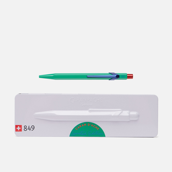 Ручка Caran d'Ache 849 Office Claim Your Style 2 Veronese Green