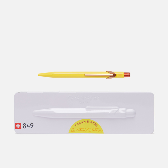 Ручка Caran d'Ache 849 Office Claim Your Style 2 Canary Yellow