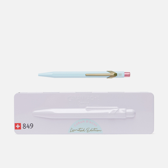 Ручка Caran d'Ache 849 Office Claim Your Style 2 Bluish Pale