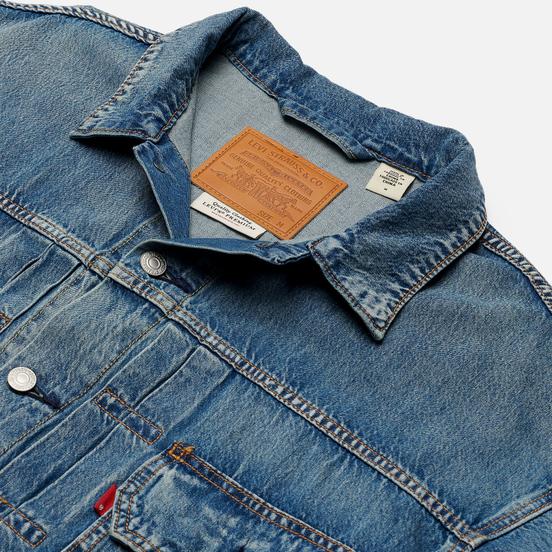 Мужская джинсовая куртка Levi's Modern Type II Trucker Nippy/Dark Blue
