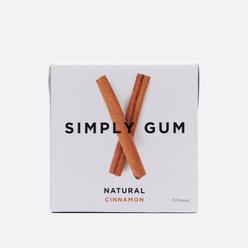 Жевательная резинка Simply Gum Natural Cinnamon