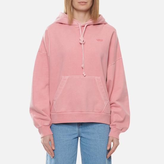 Женская толстовка Levi's 2020 Hoodie Blush Garment Dyed