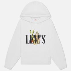 Женская толстовка Levi's 2020 Graphic Hoodie White/Cactus