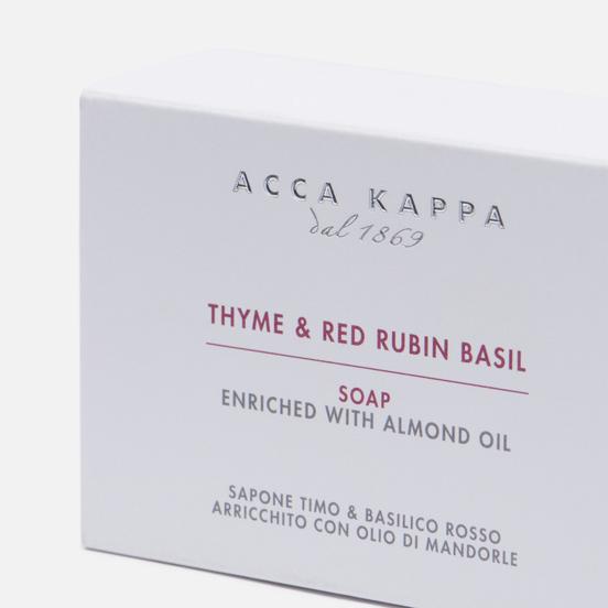 Мыло Acca Kappa Thyme & Red Rubin Basil
