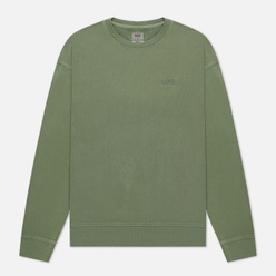 Мужская толстовка Levi's Authentic Logo Crewneck Garment Dye Hedge Green