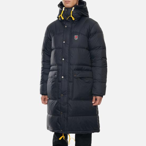 Мужская куртка парка Fjallraven Expedition Long Down M Black