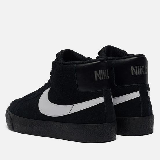 Кроссовки Nike SB Zoom Blazer Mid Black/White/Black/Black