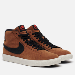 Мужские кроссовки Nike SB Zoom Blazer Mid Light British Tan/Black