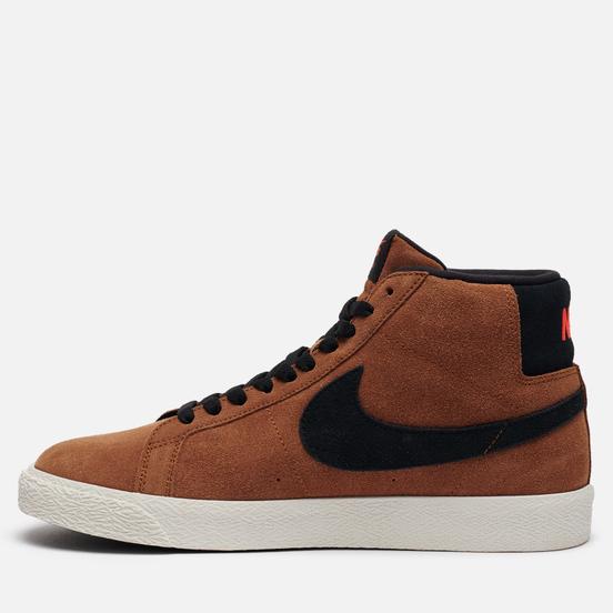 Мужские кроссовки Nike SB Zoom Blazer Mid Light British Tan/Black