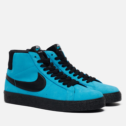 Мужские кроссовки Nike SB Zoom Blazer Mid Baltic Blue/Black/Baltic Blue/White