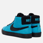 Мужские кроссовки Nike SB Zoom Blazer Mid Baltic Blue/Black/Baltic Blue/White фото - 2
