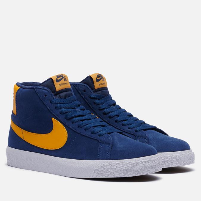 Мужские кроссовки Nike SB Zoom Blazer Mid Michigan nike кроссовки мужские nike nike air zoom vapor x knit размер 44