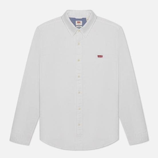 Мужская рубашка Levi's Housemark Slim Fit White